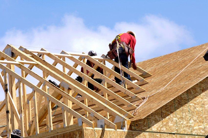 tesarstvo in streha - izdelava lesene stresne konstrukcije ostresja strehe